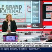 Pierre Louette, président de la Fédération Française des Télécoms, dans Le Grand Journal 4/4
