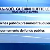 Jean-Noël Guérini: après 47 ans de militantisme au PS, j'ai décidé ce soir de le quitter