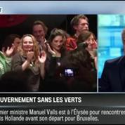 Le parti pris d'Hervé Gattegno: Remaniement: La sortie des Verts est un cadeau pour Manuel Valls