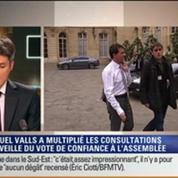Le Soir BFM: Vote de confiance au gouvernement Valls: le Premier ministre face aux frondeurs du PS 1/3