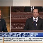 Le Soir BFM: François Hollande vs Manuel Valls: Qui aura le plus d'influence sur la politique du gouvernement dans les prochains mois ? 4/4