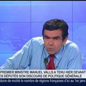"""Discours de Manuel Valls: """"Il a une approche assez entrepreneuriale, et c'est déjà positif"""", Laurent Vronski et Olivier Mathiot, dans GMB –"""