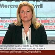 Agnès Bénassy-Quéré, présidente-délégué au Conseil d'analyse économique, dans Le Grand Journal 1/4