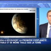 La NASA découvre une planète semblable à la Terre