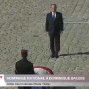 Dominique Baudis : Hollande salue le parcours d'un homme «libre»
