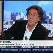 Luc Ferry, ancien ministre de l'Éducation nationale, dans l'invité de BFM Business