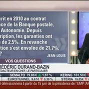 Les réponses de Frédéric Durand-Bazin aux auditeurs dans Intégrale Placements 1/2