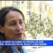 Ségolène Royal: le décret Montebourg n'est pas protectionniste