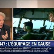 Le Soir BFM: Vol AF447 Rio-Paris: faut-il remettre en cause l'équipage ? 4/6