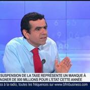 Ecotaxe: l'utilisateur est aussi le payeur, Gilles Savary dans GMB