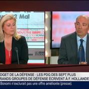 Eric Trappier, président directeur général de Dassault Aviation, dans Le Grand Journal 3/4