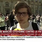 Marche citoyenne : les jeunes se mobilisent contre le Front national