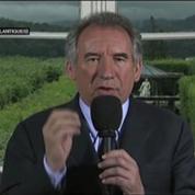 Bayrou demande le scrutin proportionnel en France
