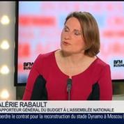 Valérie Rabault, rapporteur général du budget à l'Assemblée nationale, dans Le Grand Journal 1/4