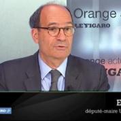 Croissance nulle : Éric Woerth condamne les propos de Michel Sapin