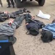 Les prisonniers pro-russes exhibés à Sloviansk
