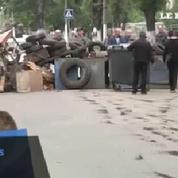 Les habitants de Sloviansk se barricadent