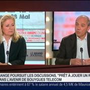 Stéphane Richard, président directeur général d'Orange, dans Le Grand Journal 3/4