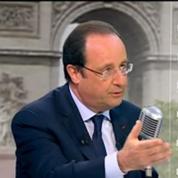 Hollande place la baisse du chômage au-dessus de sa réélection en 2017