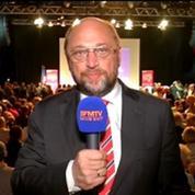 Martin Schulz: Je suis optimiste pour le PS
