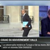 RMC Politique : Le premier couac du gouvernement Valls –