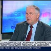 JACCAR Holdings lance une OPA sur Bourbon, Jacques de Chateauvieux dans GMB