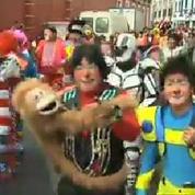 Pérou : des centaines de clowns fêtent leur journée nationale