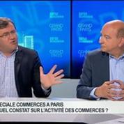 Émission spéciale commerces à Paris: Philippe Solignac, Yves Puget, Bernard Morvan et Rachel Picard, dans Grand Paris – 3/4
