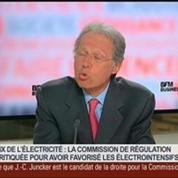 Philippe de Ladoucette, président de la Commission de régulation de l'énergie, dans Le Grand Journal 3/4