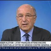 Joaquín Almunia, vice-président de la Commission européenne et commissaire européen à la concurrence, dans Le Grand Journal 1/4