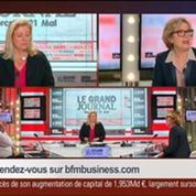 Geneviève Fioraso, secrétaire d'État à l'Enseignement supérieur et à la Recherche, dans Le Grand Journal 4/4