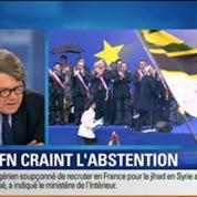 BFM Story: Européennes 2014: Le FN craint l'abstention