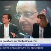 Qui écoute encore François Hollande ?, dans Les Décodeurs de l'éco 4/5