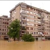 Impressionnantes inondations en Serbie et en Bosnie