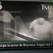 Top Média : les images de la bagarre entre Jay Z et la sœur de Beyoncé