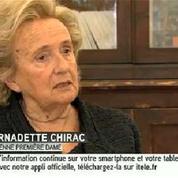 Jacques Chirac «ne se rend pas compte» de son état de santé, explique Bernadette