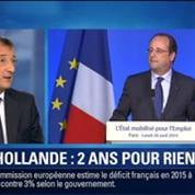 BFM Story: Deux ans à la présidence: François Hollande sera l'invité spécial de BFMTV et RMC