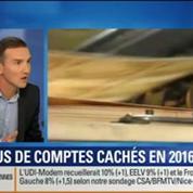 BFM Story: Michel Sapin souhaite qu'il n'y ait plus de comptes cachés en Suisse d'ici 2016 ?