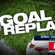 Rennes-Guingamp : le Goal Replay avec le son de RMC Sport