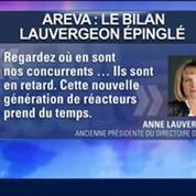 L'ancienne patronne d'Areva répond aux attaques de la Cour des comptes, Anne Lauvergeon, dans GMB