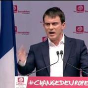Européennes: Valls appelle à ne pas laisser le terrain à l'extrême droite