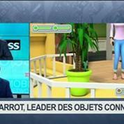 Parrot: le leader des objets connectés: Henri Seydoux, dans 01Business 1/4