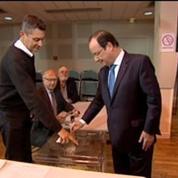 Européennes: François Hollande a voté à Tulle