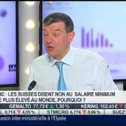 Nicolas Doze: Pour les Suisses, un Smic est anti-compétitif
