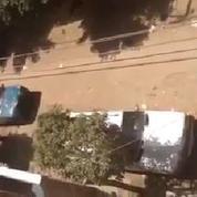 Egypte : la propagande des militants pro-Sissi dans les rues du Caire