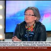 Une banque française ouvre ses portes à Genève, Stéphanie Paix dans GMB