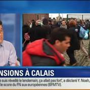 BFM Story: Calais: évacuation des camps de migrants