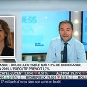 Stratégies sur les marchés: la bourse de Paris en légère baisse: Laurence Boone, dans Intégrale Bourse –