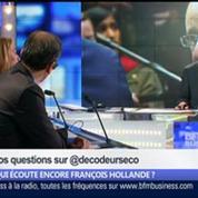 Qui écoute encore François Hollande ?, dans Les Décodeurs de l'éco 2/5