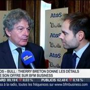 Atos: Offre publique de rachat sur Bull: Thierry Breton, dans Intégrale Bourse –